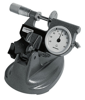 """Mitutoyo Micrometer Stand for Micrometers up to 4 in; Mic Stand, 0-4"""" (1 EA/CA)"""