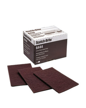 3M Scotch-Brite Hand Pads, Fine, Aluminum Oxide, Brown (20 PK/CS)