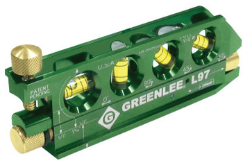 Greenlee Mini-Magnet Laser Levels, 5.63 in, 80 yd (1 EA/CA)