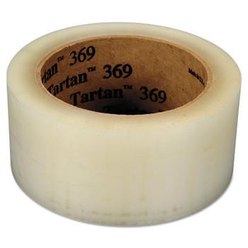 3M TARTAN BOX SEALING TAPE369 CLEAR 72MMX100M (24 CS/CA)