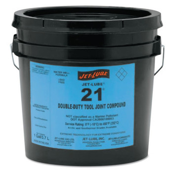 Jet-Lube 21 Double Duty Tool Joint Compound, 5 gal (5 PAL/CA)