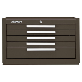 Kennedy Snap-In Mechanics' Chests, 27 in x 18 in x 16 5/8 in, Brown Wrinkle (1 EA/CS)