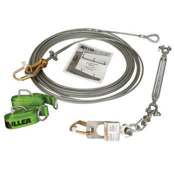 Honeywell Sky Grip Horizontal Lifeline System for 6 Workers, 300 ft (1 EA/EA)