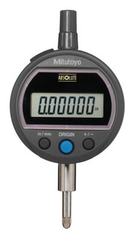 Mitutoyo Digital Indicators ID-S Solar, 0.5 in; 0.00005 in Resolution, Lug Back (1 EA/EA)