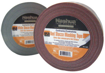 Berry Global Construction Stucco Tapes, 2 in X 60 yd, 8.5 mil, Red (24 RL/EA)