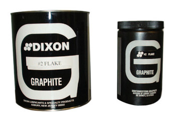 Dixon Graphite Large Lubricating Flake Graphite, 1 lb Can (1 CAN/TUBE)