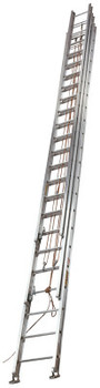 Louisville Ladder AE1660 Series Aluminum 3-Section Extension Ladders, 60 ft, Class I, 250 lb (1 EA/EA)