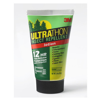 3M Ultrathon SRL-12 Insect Repellent Lotions, Bottle, 2 oz (1 EA/BAG)