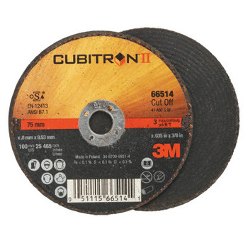 3M Flap Wheel Abrasives, 60 Grit, 25,465 rpm (25 BX/BAG)