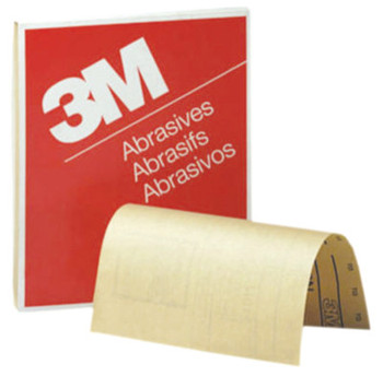 3M 3M Abrasive Production Paper Sheets, Aluminum Oxide Paper, 80 Grit (1 EA/BAG)