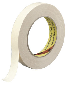 3M Scotch Paint Masking Tapes 231, 2.83 in X 180.5 ft (3 RL/BOX)