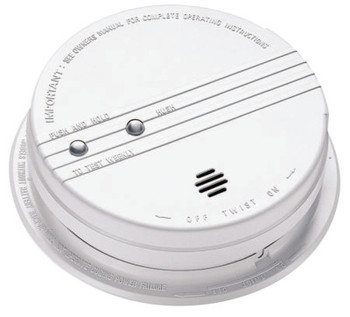 Kidde Interconnectable Smoke Alarms, With Hush, Photoelectric (1 EA/BOX)