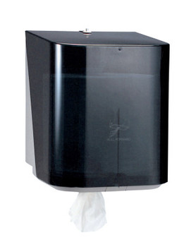 Kimberly-Clark Professional In-Sight The Protector Center-Pull Dispensers, Wall, Plastic, Smoke (1 EA/EA)