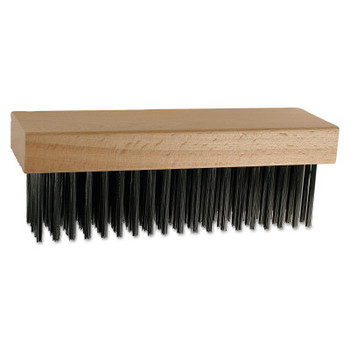 Advance Brush STRAIGHT BACK BLOCK BRUSH 6X19 ROWS CS WIRE (12 BOX/EA)
