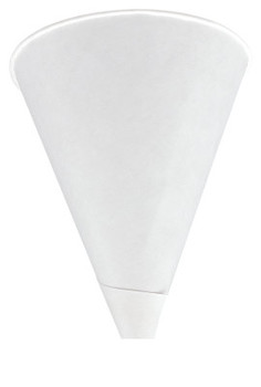 Igloo Cone Cups, 4 1/4 oz, White, 200 per package (25 CA/BOX)