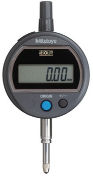 Mitutoyo Digital Indicators ID-S Solar, 12.7 mm Range, 0.01 mm Resolution, Flat Back (1 EA/EA)