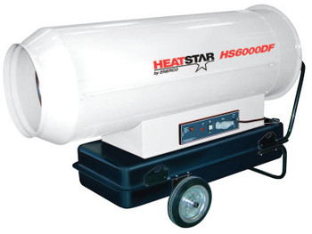 HeatStar Portable Diesel Direct-Fired Heaters, 35.6 gal, 115 V (1 EA/EA)