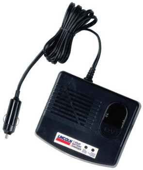Lincoln Industrial 12V DC Field Charger for Use w/Battery Pack 1201 (Plugs Into Cigarette Lighter) (1 EA/BOX)