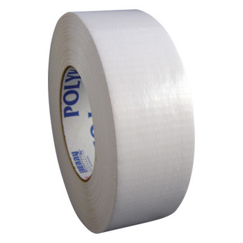 Berry Global Nuclear Grade Duct Tapes, White, 2 in x 60 yd x 12 mil (24 RL/BOX)