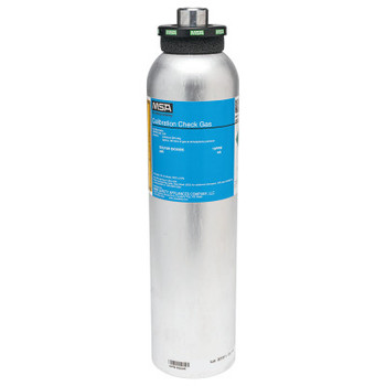 MSA Calibration Gas Cylinder, Sulfur Dioxide, 10 ppm, 58L (1 EA/BOX)