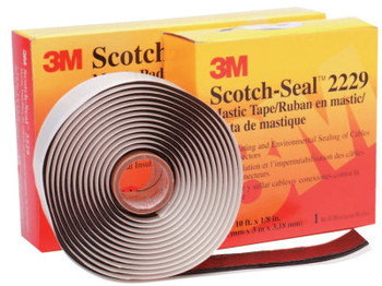 3M Scotch-Seal Mastic Tape 2229, 3 3/4 in X 10 ft, 125 mil (1 EA/EA)