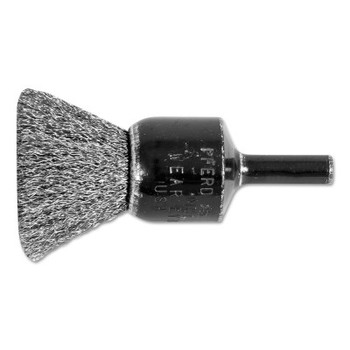 "Advance Brush Standard Duty Crimped End Brushes, Stainless Steel, 20,000 rpm, 3/4"" x 0.006"" (1 EA/EA)"