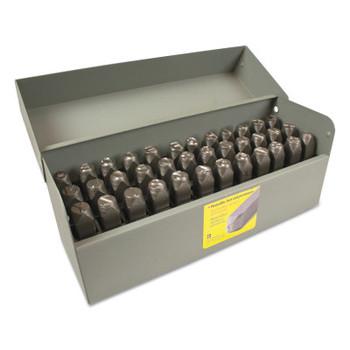 C.H. Hanson Premier Steel Hand Stamp Sets, 1/4 in, 0 thru 9; A thru Z (1 SET/EA)