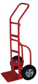 Milwaukee Hand Trucks Heavy Duty Hand Trucks with Flow Back Handle, 800 lbs Cap., Solid Rubber Wheels (1 EA/BOX)