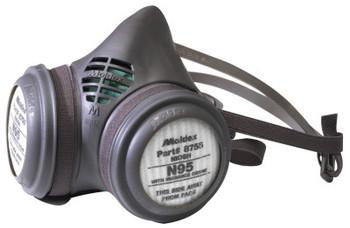 Moldex 8000 Series Assembled Respirators, Medium, N95 & Nuisance Ozone/OV Filter (12 EA/EA)