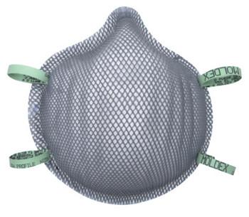 Moldex Dirt Dawgs Particulate Respirators, Non-Oil Based Particles, Low Profile (360 CA/BOX)