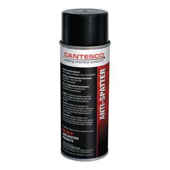 Cantesco Heavy Duty Solvent Based Anti-Spatter, 16 oz Aerosol Can, White to Amber (12 EA/BX)