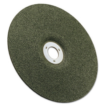 3M Green Corps Wheel, 4 1/2 in Dia, 1/8 in Thick, 5/8 Arbor, 36 Grit Ceramic (10 CT/BOX)
