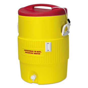 Igloo 400 Series Coolers, 10 gal, Red, Yellow (1 EA/BOX)