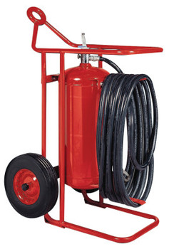 Kidde Wheeled Fire Extinguisher Units, Class A, B and C Fires, 125 lb Cap. Wt. (1 EA/EA)