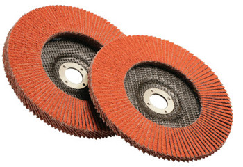 3M Flap Discs 947D, 4 1/2 in, 40 Grit, 7/8 in Arbor, 13,300 rpm (1 EA/EA)