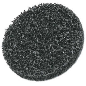 3M Scotch-Brite Roloc Coating Removal Disc TR, Extra Coarse, Silicon Carbide, Black, 3 in dia (1 EA/EA)