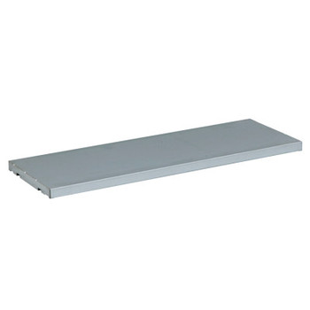 Justrite SpillSlope Shelves For Safety Cabinets, 39 in x 18 in x 2 in, Galvanized Steel (1 EA/BOX)