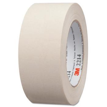 3M Paper Masking Tape 2214, 1.88 in X 60.15 yd (1 RL/EA)