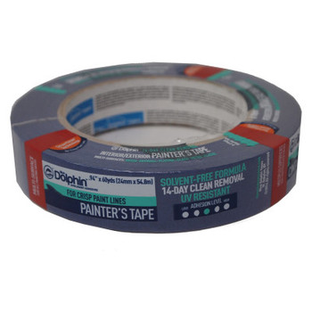 Linzer Professional Painters Blue Masking Tape, 1 in X 60 yd (1 RL/BOX)