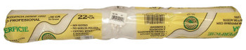 Linzer Shed-Resistant Roller Covers, 18 in, 3/8 in Nap, White Woven (24 EA/BOX)