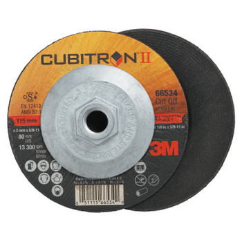 3M Flap Wheel Abrasives, 36 Grit, 13,300 rpm (50 CT/BOX)
