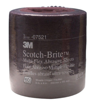 3M 3M Abrasive Scotch-Brite Multi-Flex Sheet Rolls, Aluminum Oxide, Ultra Fine (1 EA/BOX)