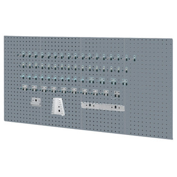 Kennedy VTC Toolboard Set, Four Panels, Gray (1 ST/BOX)