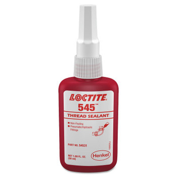 LOCTITE 545 Thread Sealant, Hydraulic/Pneumatic Fittings, 1/2 mL Capsule, Purple (1 EA/KT)