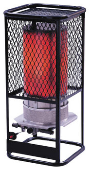 HeatStar Portable Radiant Heater, 125,000 Btu/h, 17 h (1 EA/BOX)