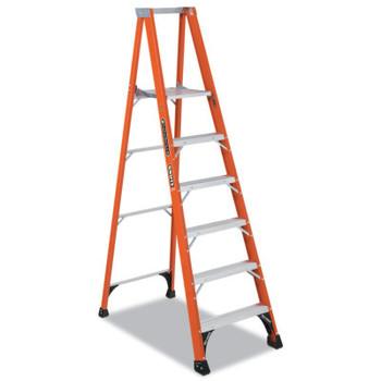 Louisville Ladder FP1400HD Series Brute 375 Fiberglass Platform Step Ladder, 375 lb Capacity (1 EA/BOX)