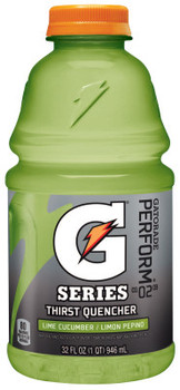 Gatorade 32 Oz. Ready to Drink, Lime Cucumber, Bottle (1 CA/BOX)