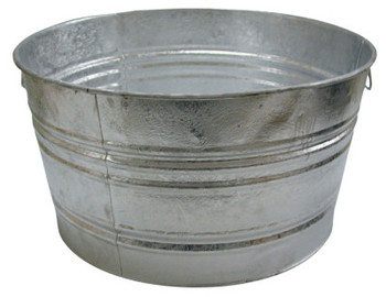 Magnolia Brush 73.97-QT. GALVANIZED TUB (6 EA/BOX)