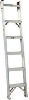 Louisville Ladder 10' MASTER SHELF LADDERALUMINUM (1 EA/EA)