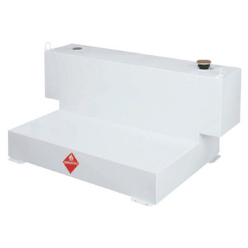 Apex Tool Group Liquid Transfer Tanks f/4-Door Trucks, L-Shaped, 98 gal to 106 gal, Steel, White (1 EA/ST)